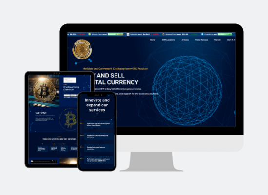 Cryptocurrency Web App